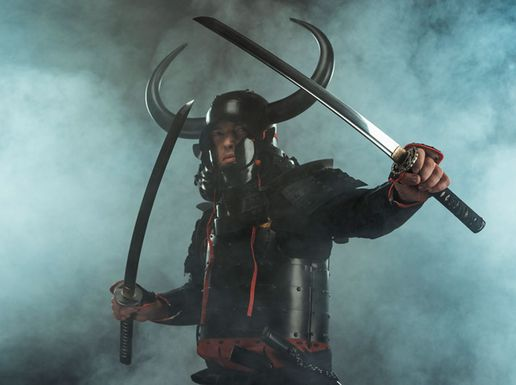 Samurai armor Kyoto