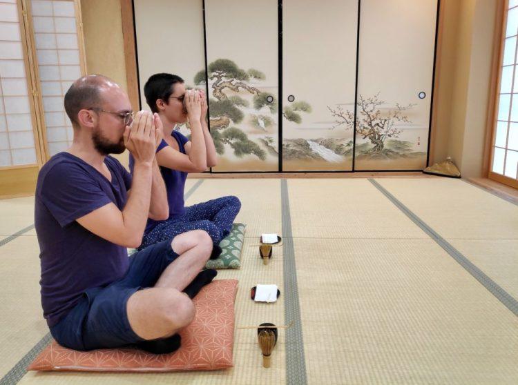 tea ceremony zen meditation