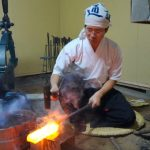 katana knife make kyoto