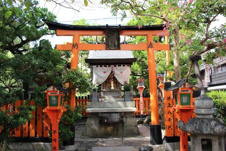 祇園辰巳神社(辰巳大明神)