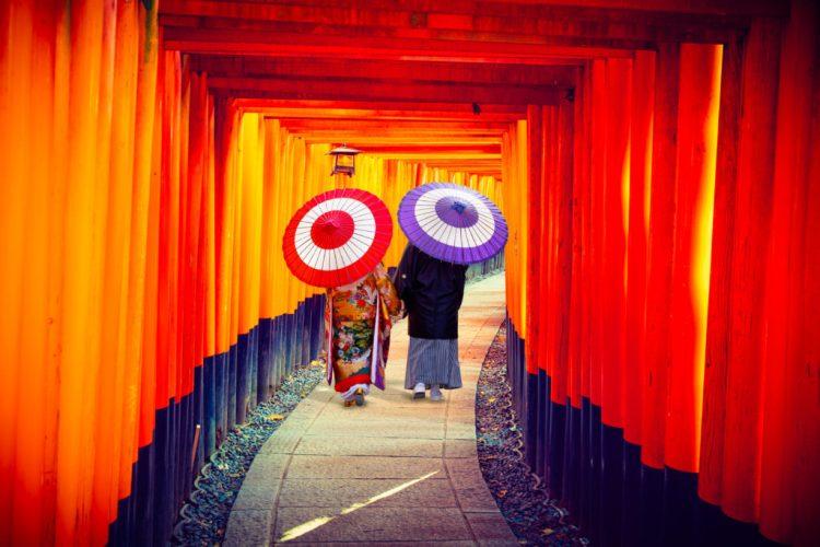 Fushimi Inari 10,000 gates.