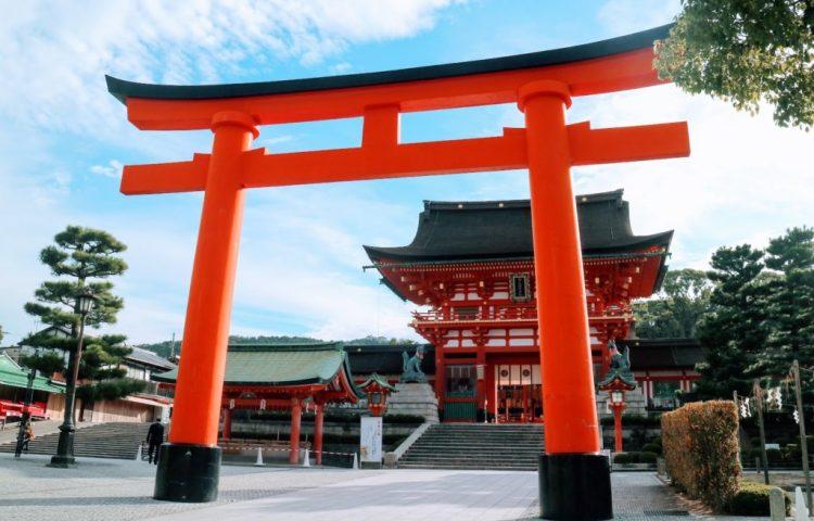 Fushimi Inari Giant Torii Gate