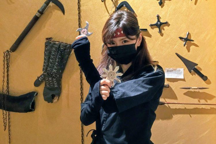 ninja costume woman