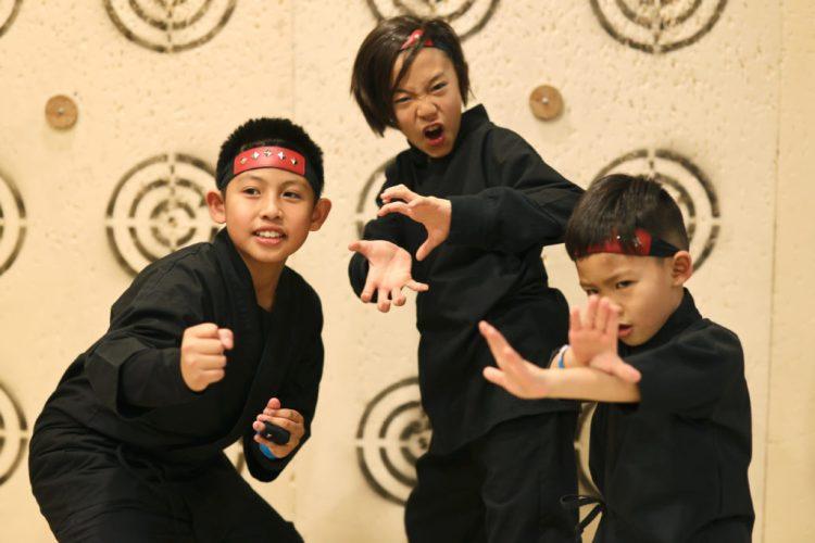ninja lesson kids