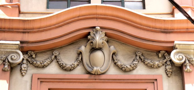 Details on the Calvo Building