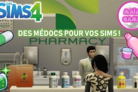 Mod Médicaments Sims 4