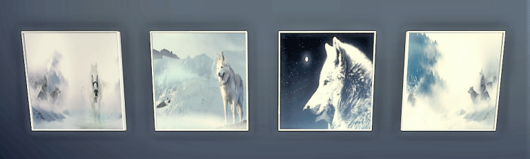Photo 1 Maïa Game Tableaux Loups Pack 1