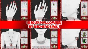 Bijoux Halloween By RedHeadSims !
