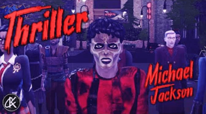 THRILLER – Michael Jackson – SIMS 4 By Kelvin City !