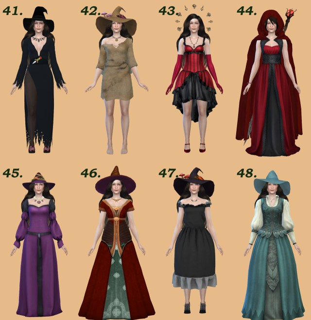LizzikSims Magical Clothes