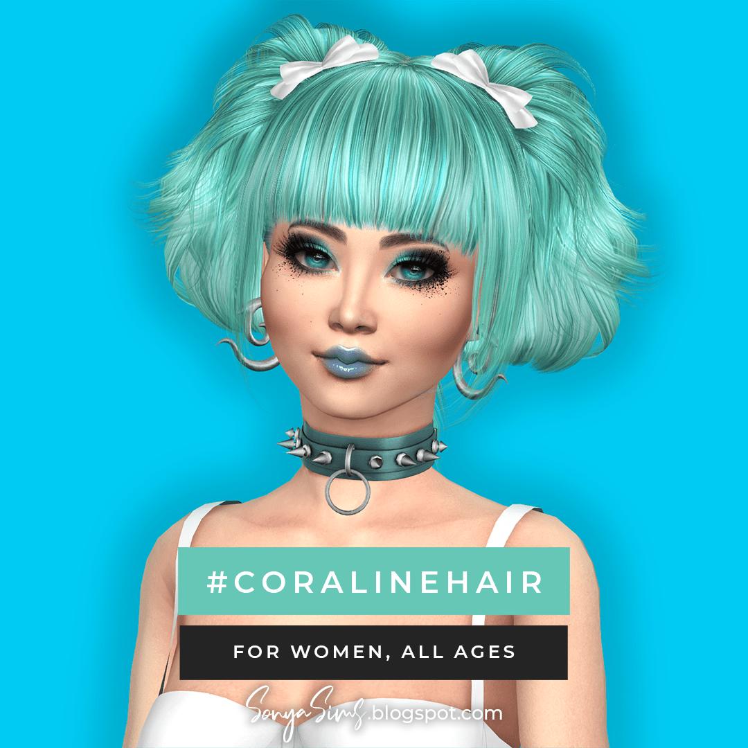 SonyaSims : Coiffure Coraline !