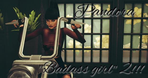 Poses Badass Girl 2 !
