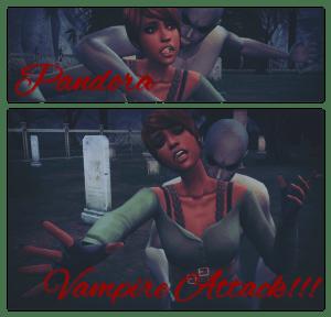 Poses Attaque de Vampire !