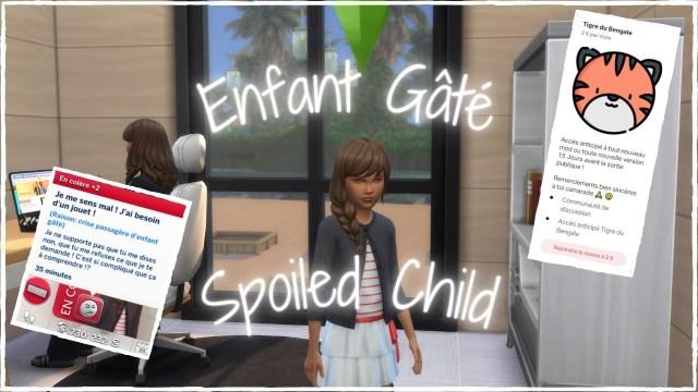 Mod Enfant gâté