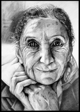 Old woman -Great Britain