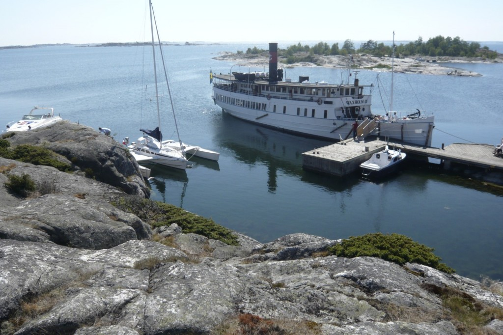 Mouillage à Bulerö