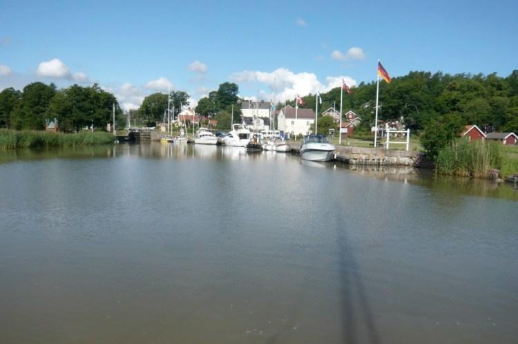 L'entrée de Göta kanal