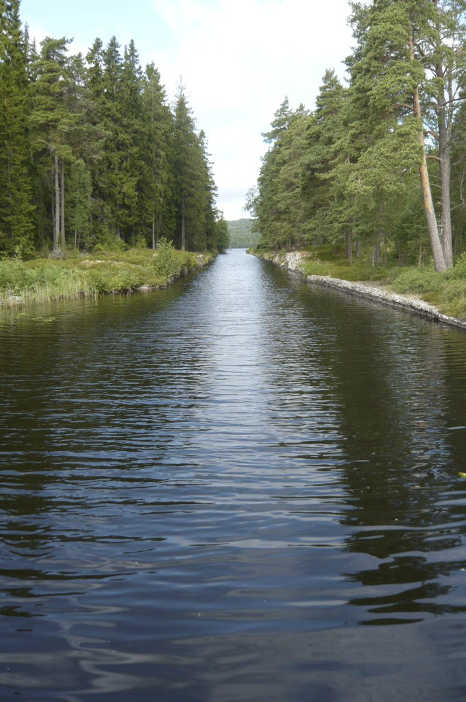Göta kanal, Viken
