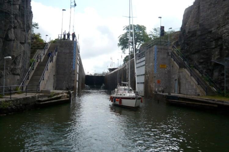 Göta kanal, Trollhättan