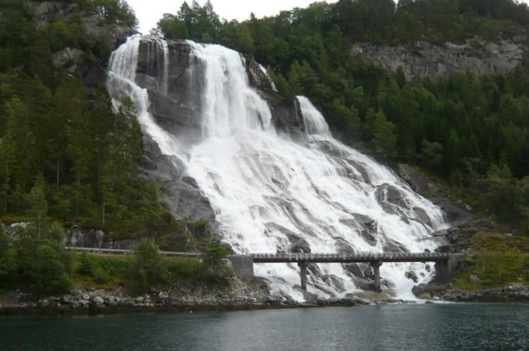 Vue de Hardanger fjord