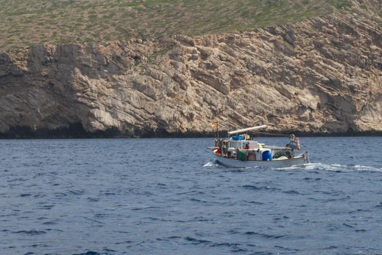 Sud de Cabrera et un pêcheur
