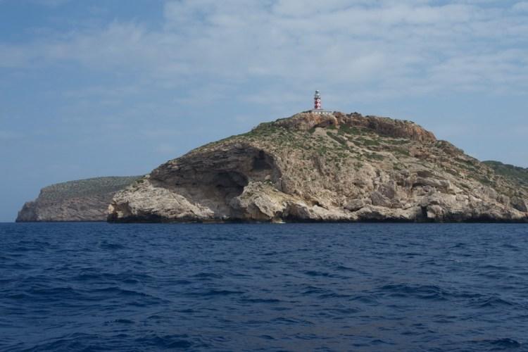 Sud de Cabrera et son phare