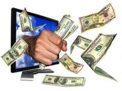 Resultado de imagem para dinheiro no computador