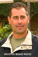 Trainer Brian Koriner teamed with Joe Talamo to get the money in Del Mar's 4th