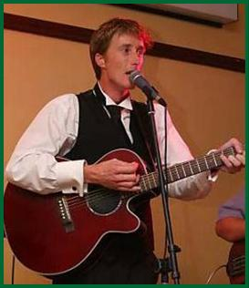 Trainer Carl O'Callahan, who won with 9/1 shot Brian the Brave, regularly performs Irish music at L.A. bars
