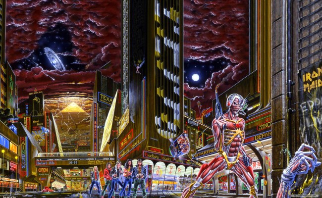 Somewhere In Time Maiden Revelations