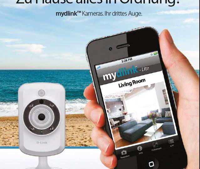 Videoüberwachung: mydlink Kameras zuhause und im Business