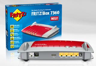 Neues Einsteiger-Modell: FRITZ!Box 7360