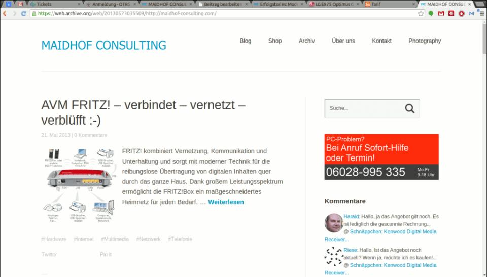 Erfolgstories Moderne Websites Mit Wordpress Maidhof Consulting