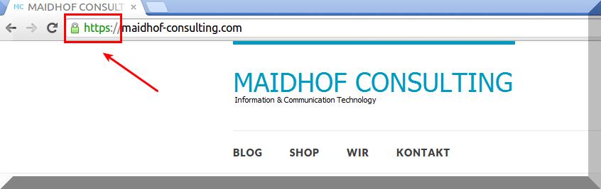Website via HTTPS verschlüsseln