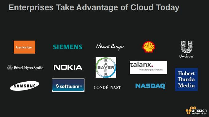 Enterprises Take Advantage of Cloud Today