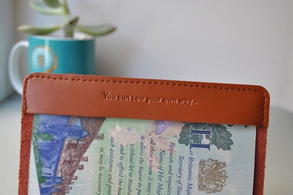 d6b22c2d52d stitch brown passport. Stitch passport cover grey
