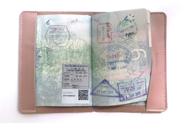 36b6ac066c4 Stitch Passport Cover - Maid In China Design