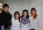The team: Mateo, Clara, Priscila and Laura.