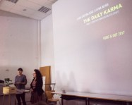 """Latika Nehra and Clara Cristina Rego's """"The Daily Karma"""" is a twist into the current usage of social media and the pervasiveness of negative news"""