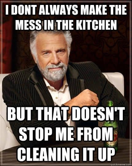 Office Cleaning Meme : office, cleaning, Cleaning, Memes, Prove, Aren't, Alone, Maids