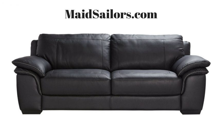 how to get rid of ink marks on leather sofa overstuffed sets maintain clean your couch maid sailors