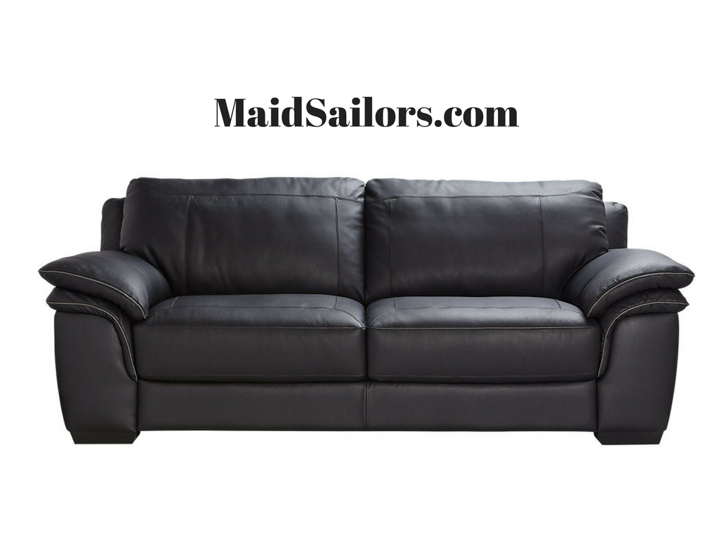 clean a leather sofa what to know when buying sectional how maintain and your couch maid sailors