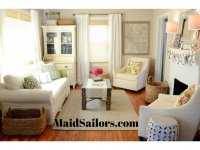 Tips for Efficiently Organizing Small Living Rooms | Maid ...