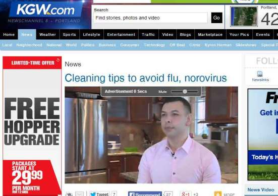 Maids by Trade Featured on KGW News Channel 8 (NBC)