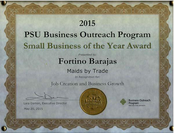 Portland State University Business Outreach Program