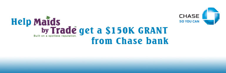 Help us get a $150K Chase Grant
