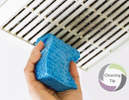 How to Clean a Bathroom Fan