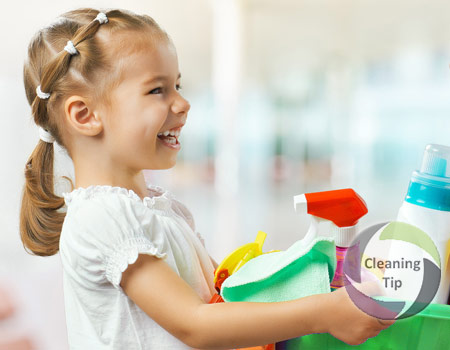 House cleaning and Age Appropriate Chores