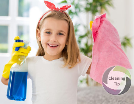 House cleaning and Age Appropriate Chores from Maids by Trade