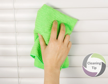 how to clean blinds maids by trade. Black Bedroom Furniture Sets. Home Design Ideas